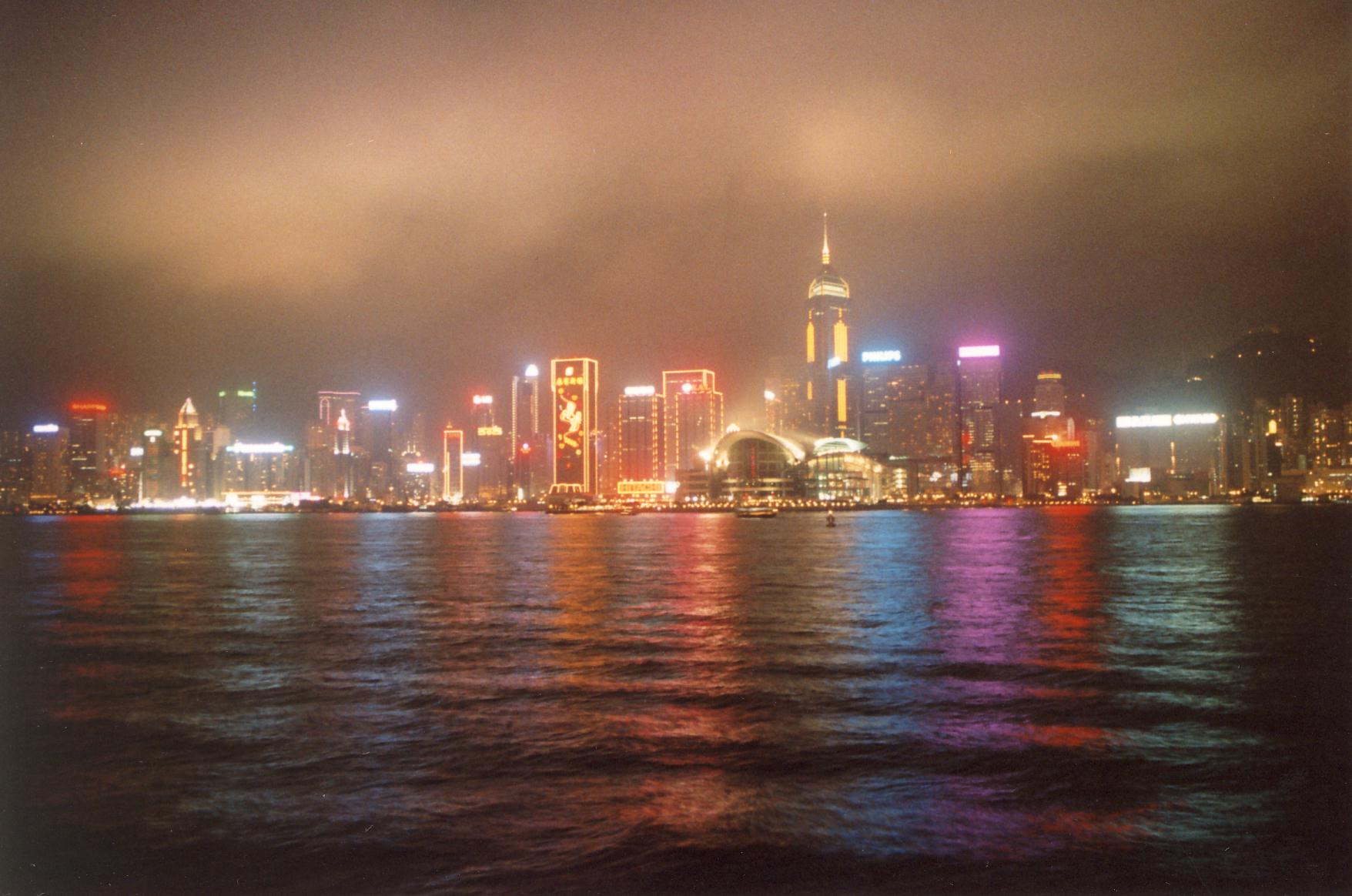 Skyline am Hafen